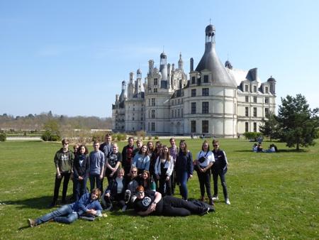 Schüleraustausch mit Lyceé Courier